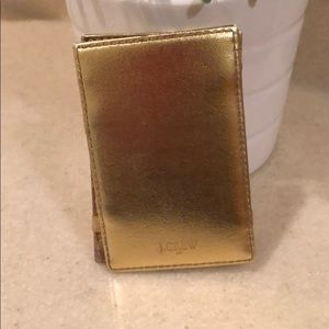 J crew inside out magic card holder wallet for sale